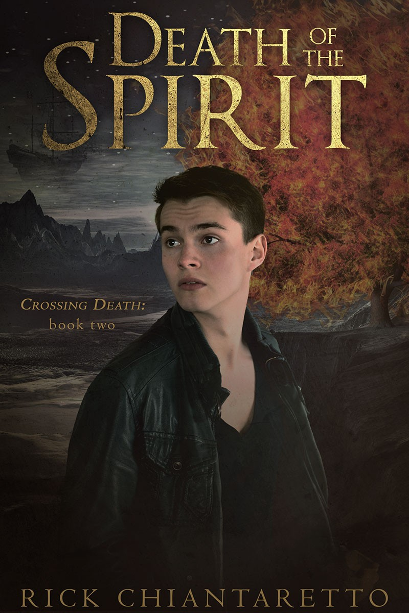 Death of the Spirit (Crossing Death #2) Cover